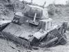 rozbity włoski czołg
