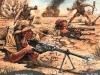 włoska piechota pod El-Alamein