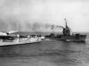 """""""Conte di Cavour"""" i torpedowiec """"Cassiopea"""""""
