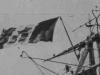"""bandera na """"Conte di Cavour"""""""